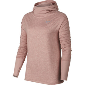 Nike Element LS Shirt Women rust pink/heather